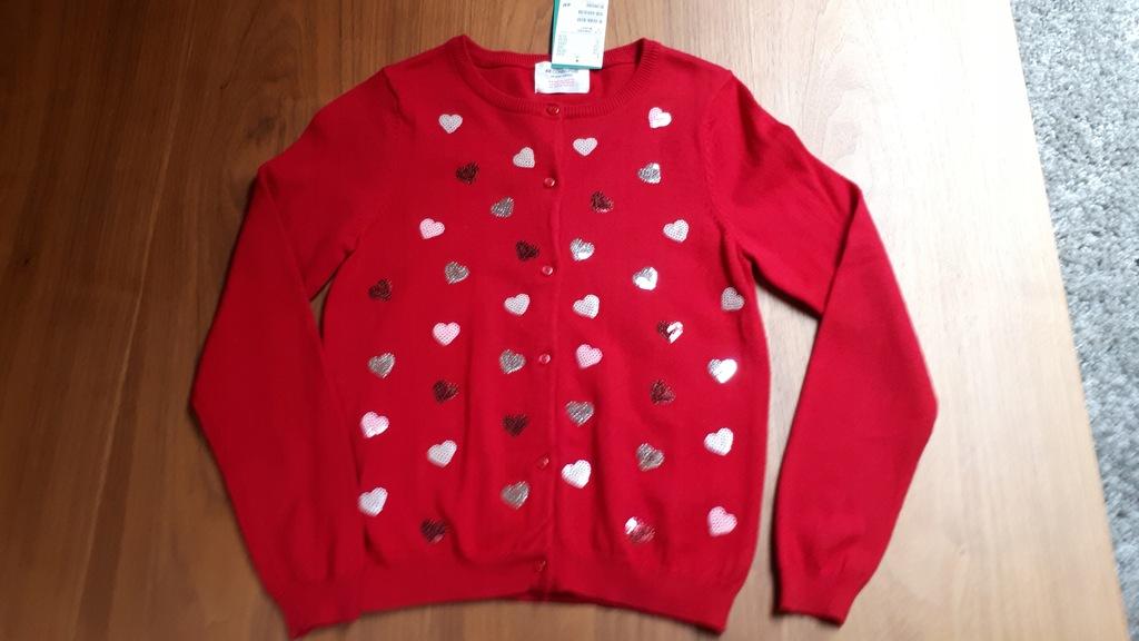 sweterek rozpinany HM dla dziewczynki