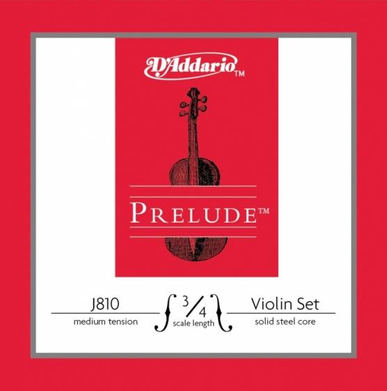 D'Addario Prelude J810 - struny do skrzypiec 3/4