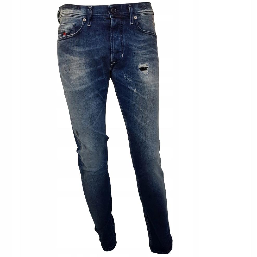 Spodnie Diesel Jeans TEPPHAR 0850H 28x32 -60%