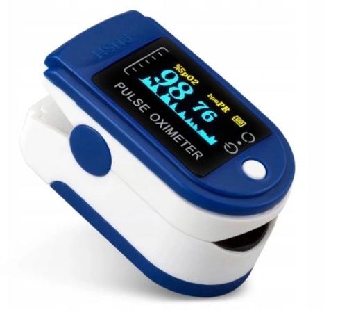 Puls oksymetr na palcowy pulsometr na palec