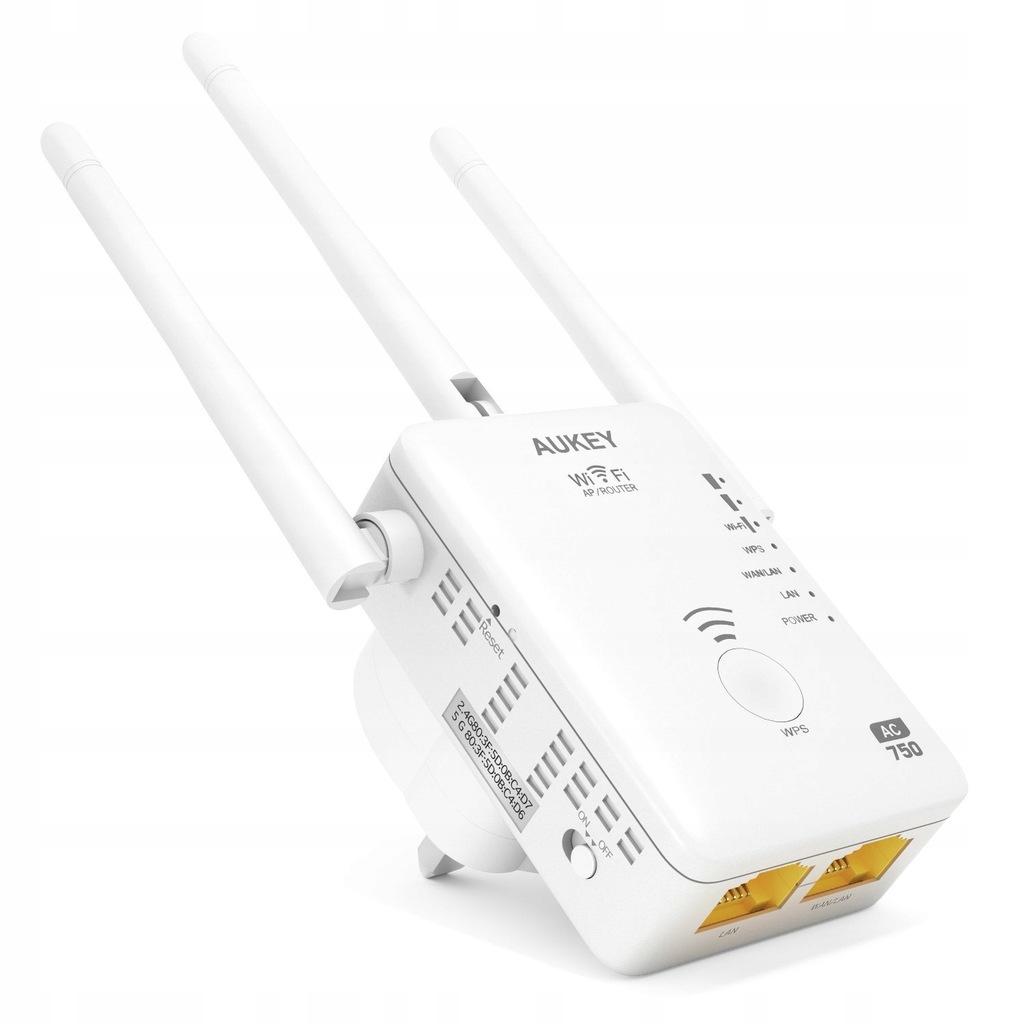 Wzmacniacz sygnału WiFi AUKEY WF-R7 750 Mbps
