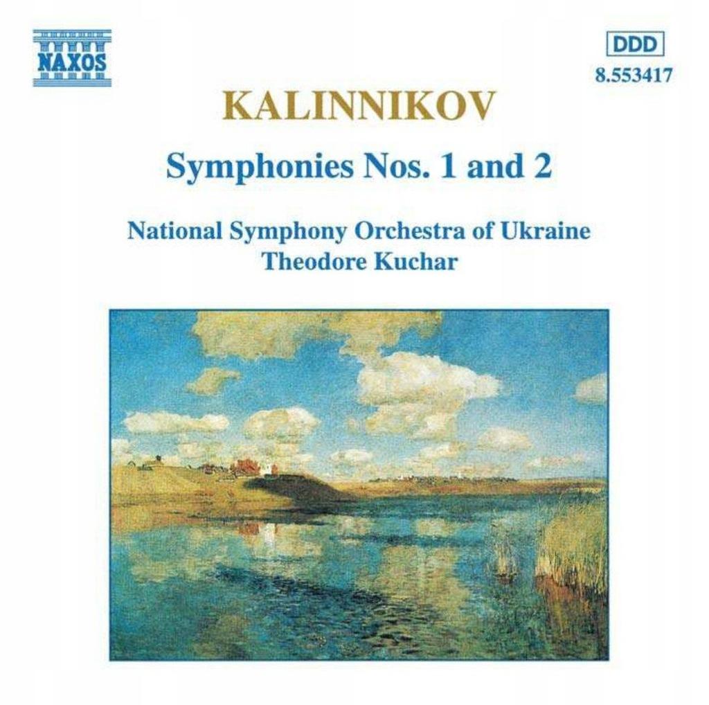 UKRAINE NSOKUCHAR: KALINNIKOVSYMPHONIES 1 2 (CD)