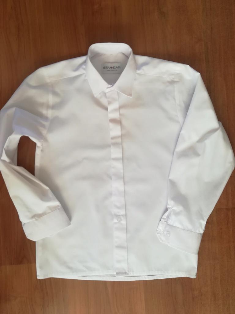 Piękna Koszula biala STANDAR 140