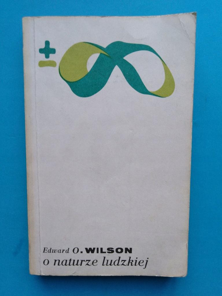 Edward O. Wilson O naturze ludzkiej - 7443566240 - oficjalne archiwum  Allegro