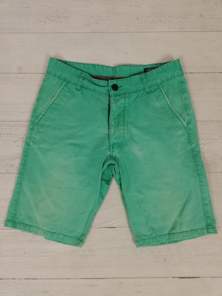 JACK&JONES_męskie krótkie spodenki jeansowe_M