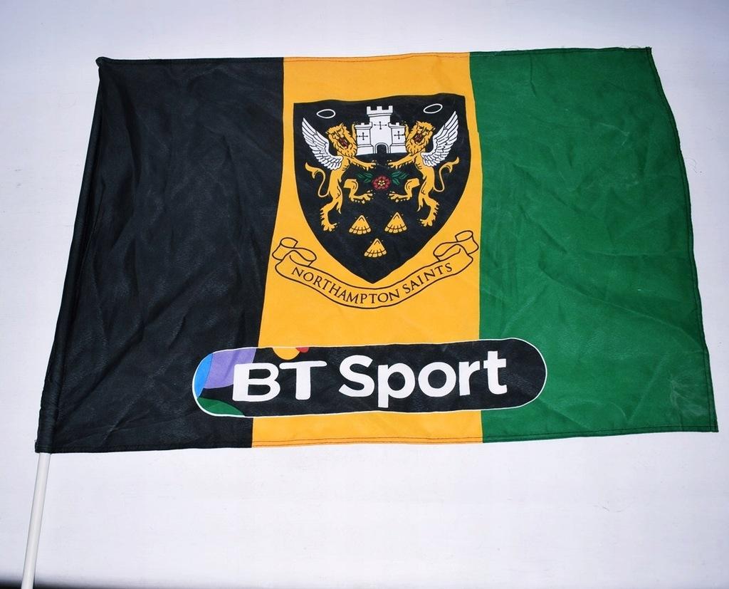 8083-2 ...BT SPORT... a#g FLAGA NORTHAMPTON SAINTS