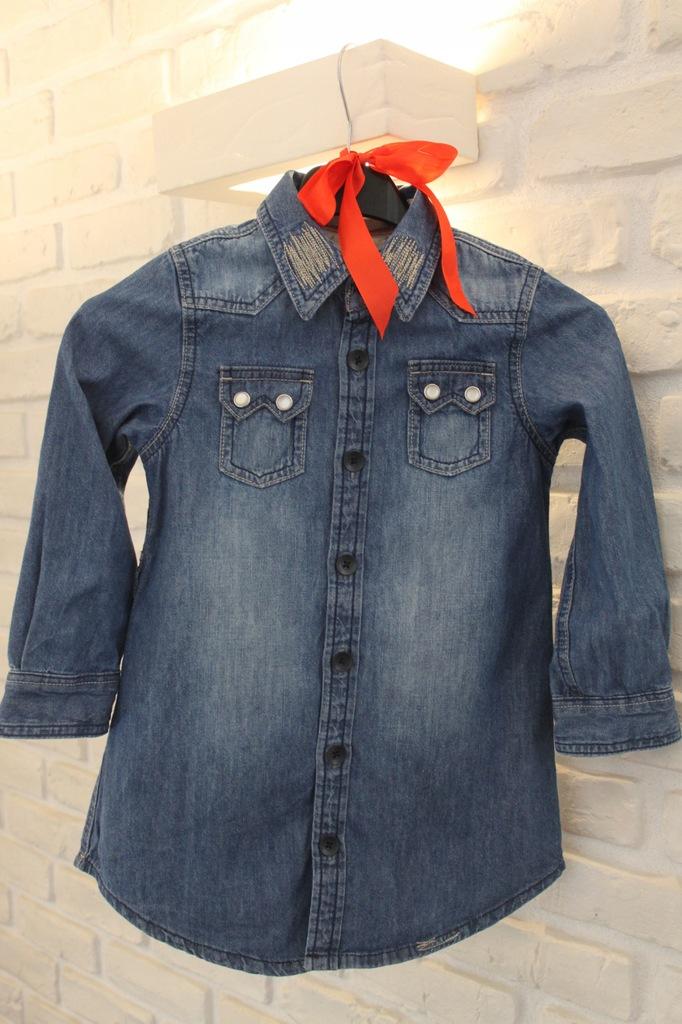 Koszula dżinsowa, jesień, Next 5 lat, dziewczynka