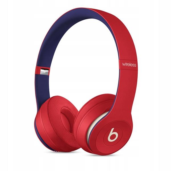 Słuchawki Beats Solo3 Wireless Club czerwone