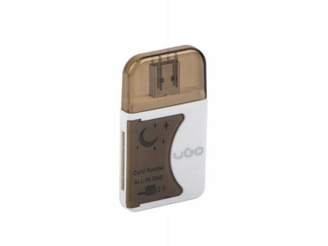 Czytnik kart UGO UCZ-1006 (Zewnętrzny; CompactFlas