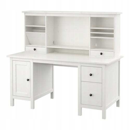 HEMNES Biurko, biała bejca, 155x65 cm, Zamów dziś IKEA