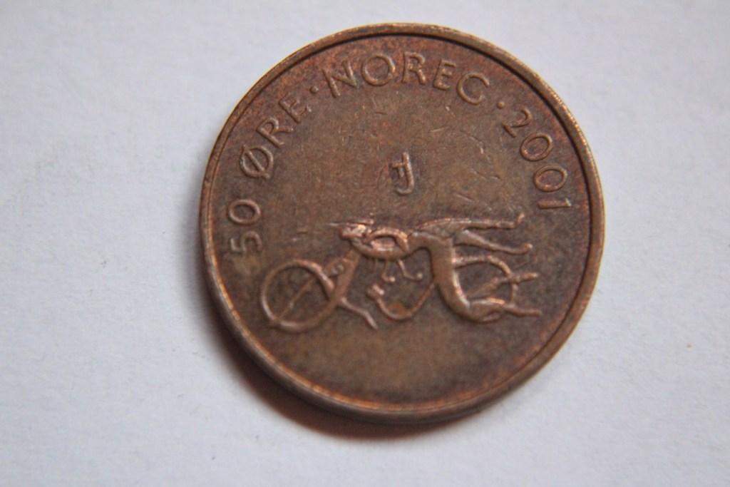 50 ORE 2001 NORWEGIA -W265