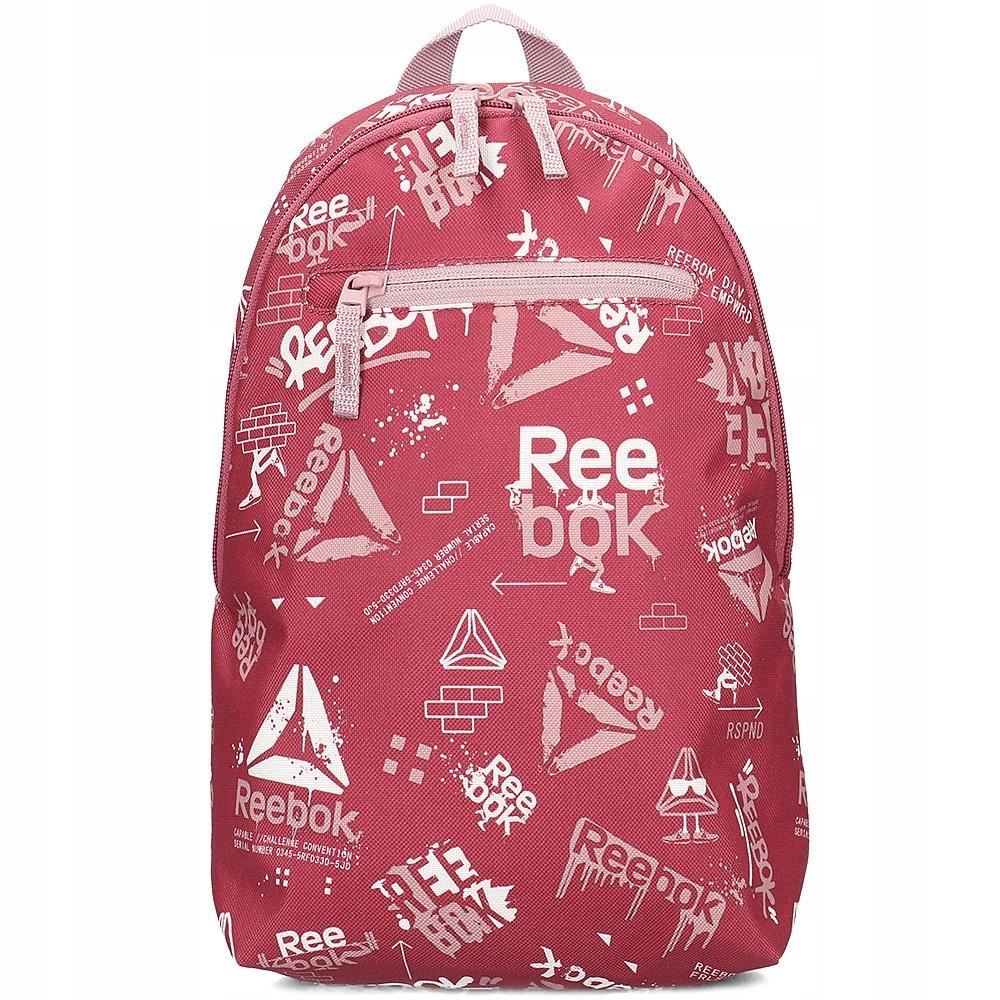 Reebok Różowy Plecak Dziecięcy Logo R.Uni