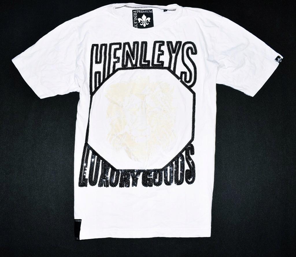 6279-32 ..HENLEYS PREMIUM... n#s T-SHIRT PRINT r.M
