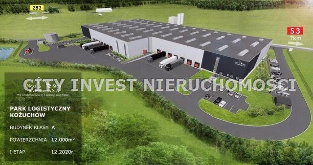 Magazyny i hale, Kożuchów, Kożuchów (gm.), 4200 m²