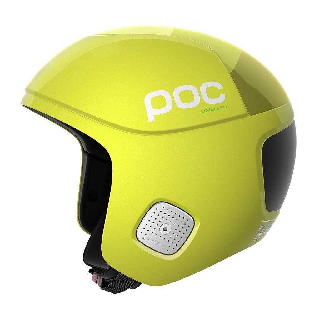 217C5 Kask narciarski POC Hexane Yellow XL 7176317954