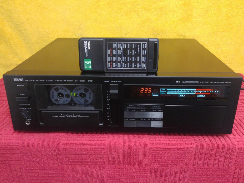 Magnetofon YAMAHA KX-1200 RS + PILOT // Hi-End //