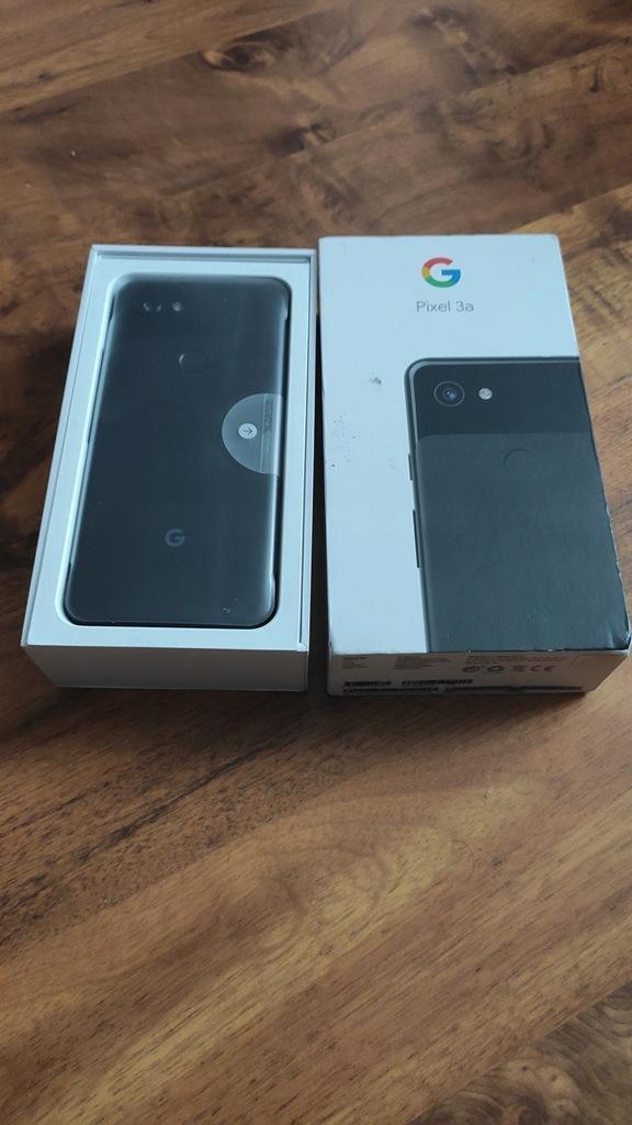 Smartfon Google Pixel 3A 4/64GB czarny
