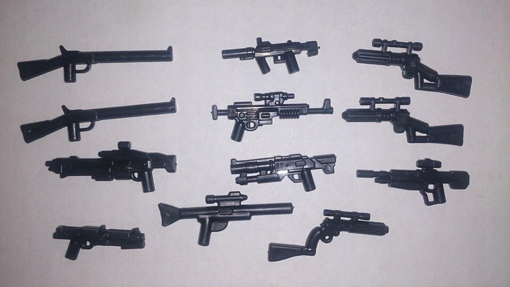 Broń pistolety wojsko do LEGO Zestaw ZX31