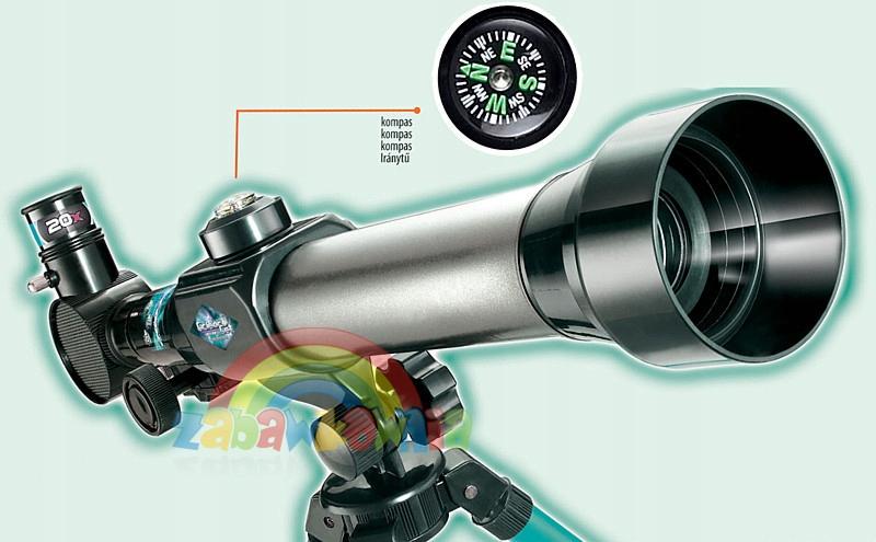astronomiczny TELESKOP luneta zestaw edukacyjny