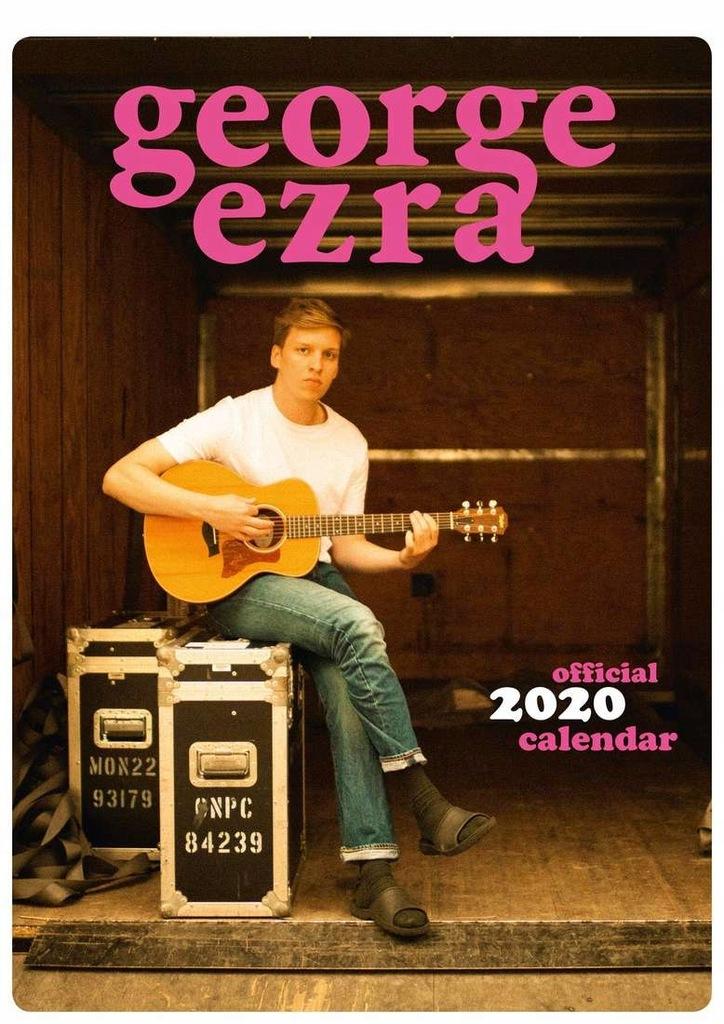 George Ezra - Oficjalny Kalendarz 2020 rok