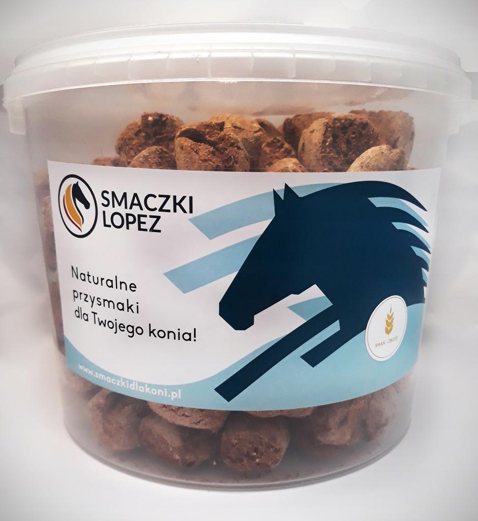 Smaczki Lopez - przysmaki,smakołyki dla koni