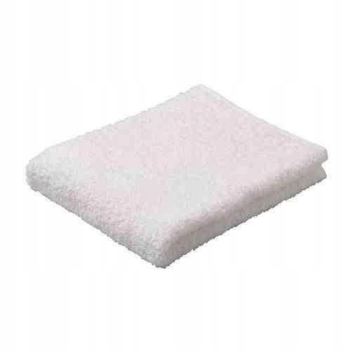 Ręcznik kosmetyczny frotte 30cm x 50cm BIAŁY