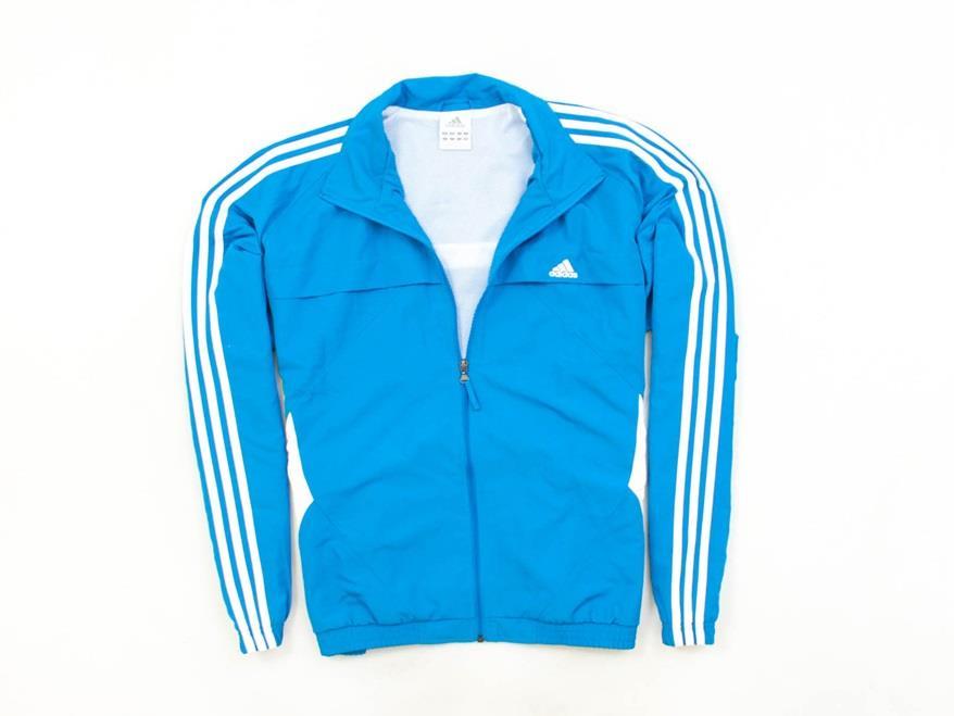 *F Adidas Adisport Kurtka Męska Wiatrówka Blue 46