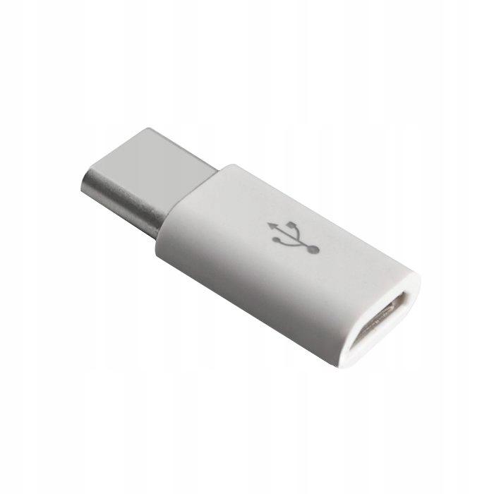 Adapter przejściówka z micro USB na USB Type-C