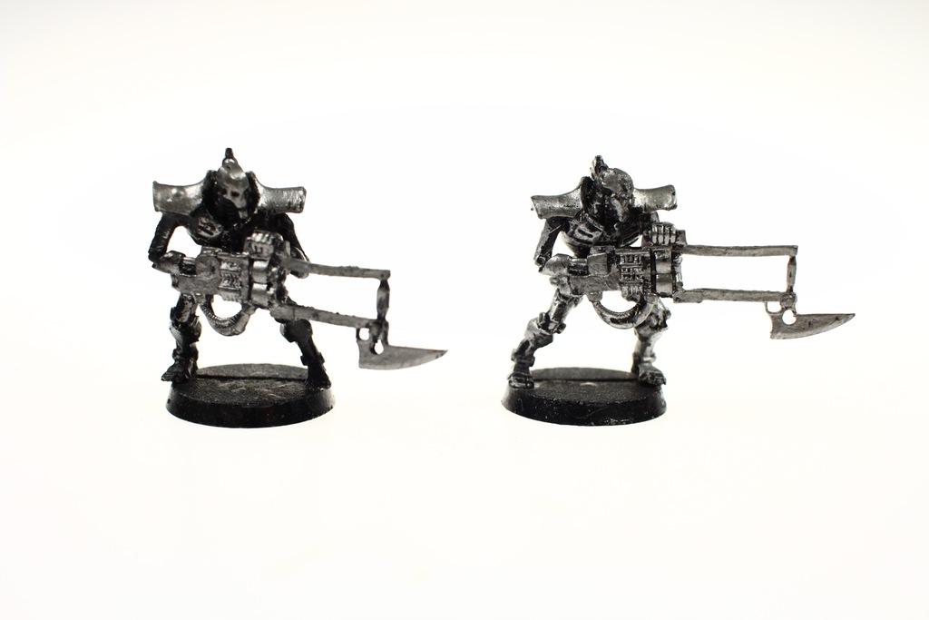 Necron Immortals zestaw 2 figurki metal