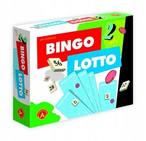 ZABAWKA GRA 2w1 Bingo Lotto ______________________