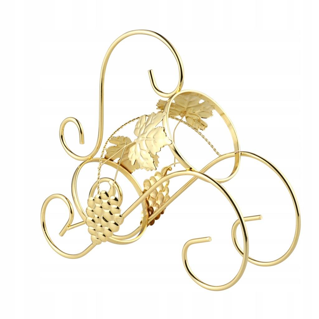 Złoty stojak na kieliszki do wina Europejski styl