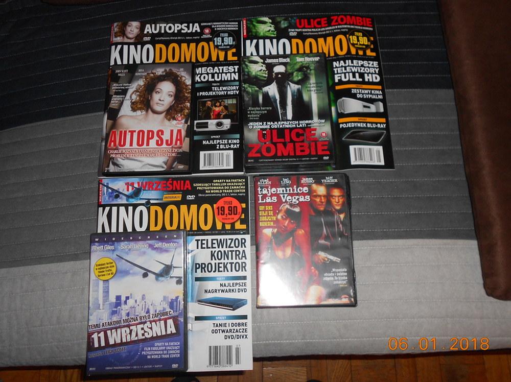 KINO DOMOWE - 4 FILMY DVD