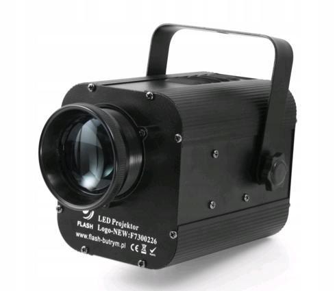 Flash LED LOGO Projektor 50W - gobo projektor