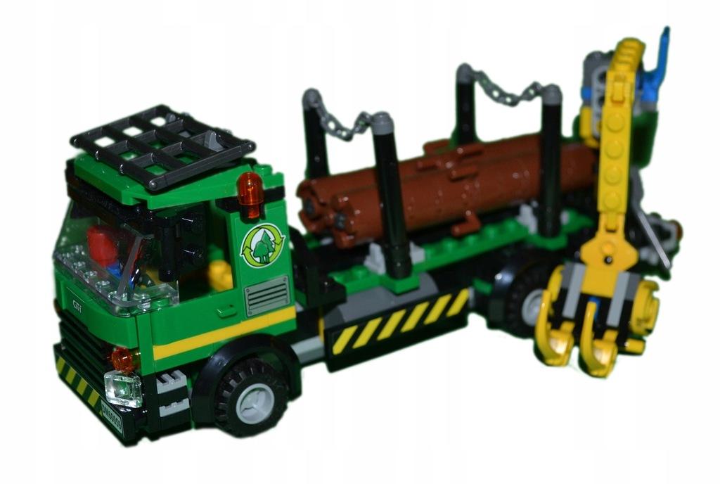 Lego 60059 ciężarówka do transportu drewna POJAZD