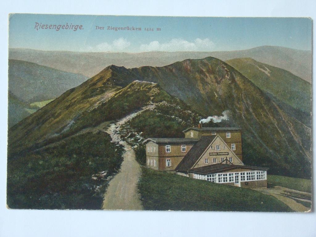 Riesengebirge Der Ziegenrucken