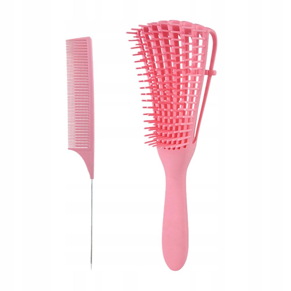 1 Set 2pcs Massage Comb Plastic Claw Comb Octopus