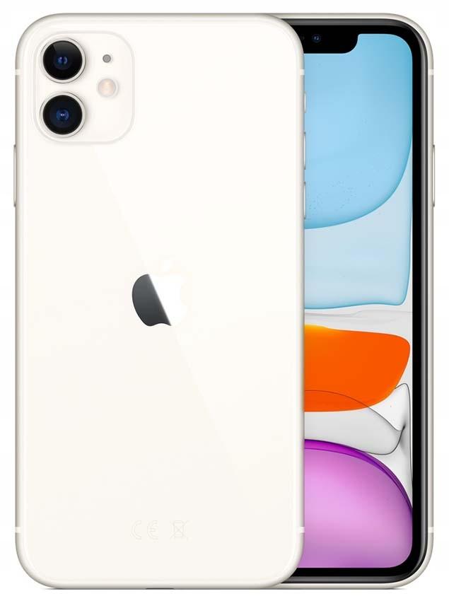 ***iPhone 11 64GB white NOWY dual sim***