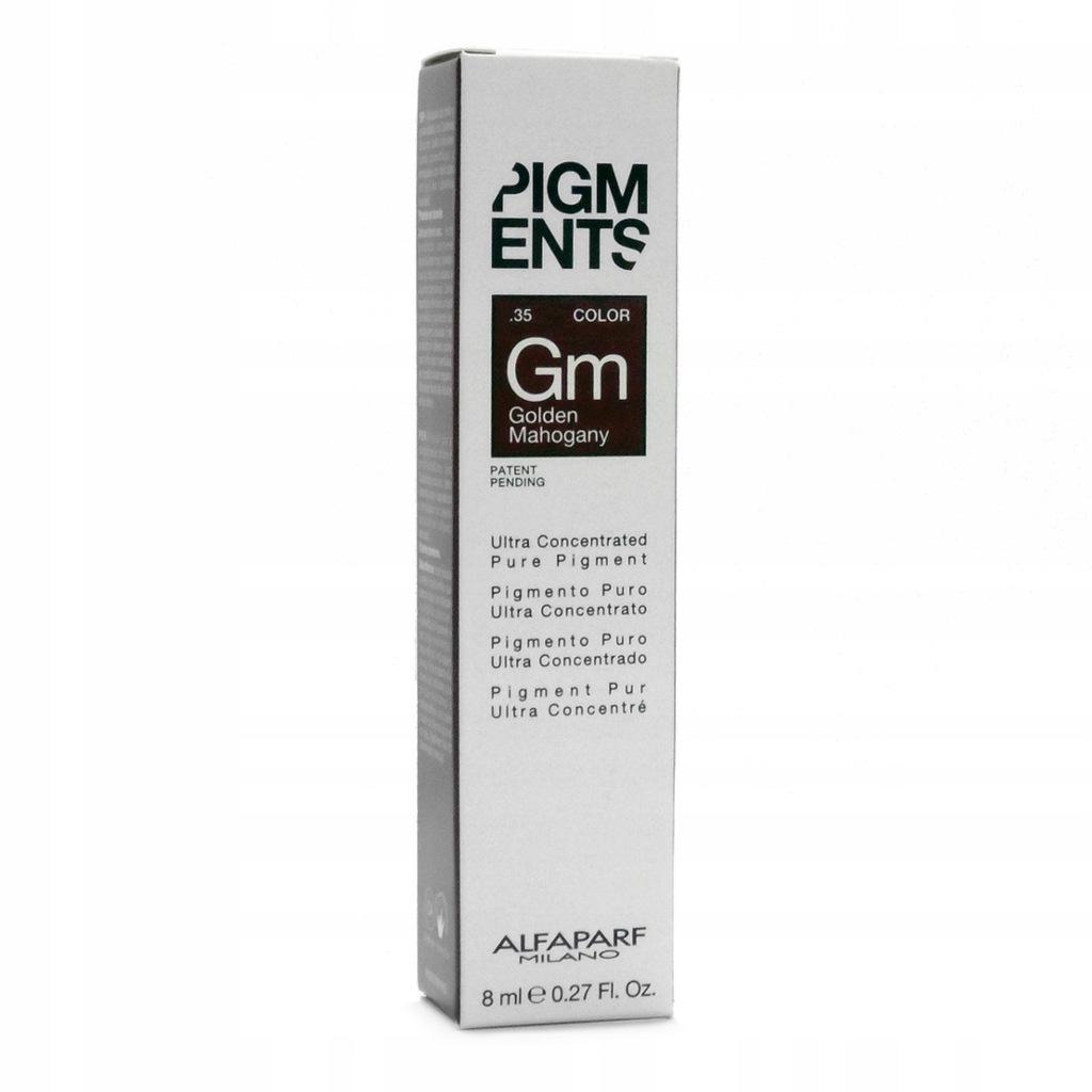 ALFAPARF pigment włosy złoty mahoniowy brąz 8ml