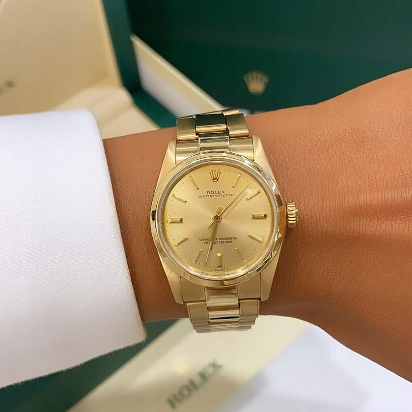 Rolex Oyster Perpetual 18K GOLD