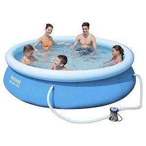 Bestway 10ft Fast Set Pool BASEN BEZ POMPY -4105