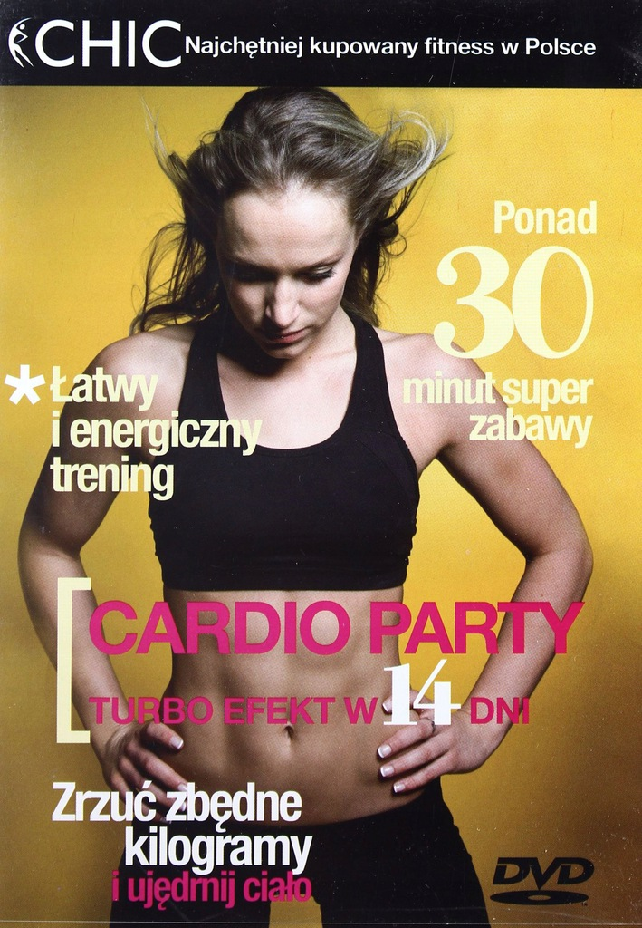 CARDIO PARTY - fitness DVD
