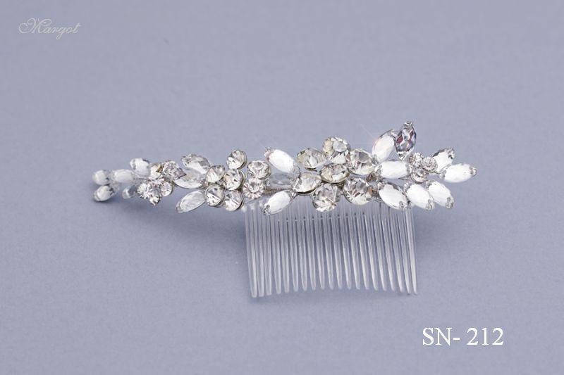 Stroik ślubny SN212 - fryzury ślubnej, głowę