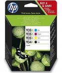 hp tusz 4 pack 935xl 935xl 935xl 934xl ORGINALNY