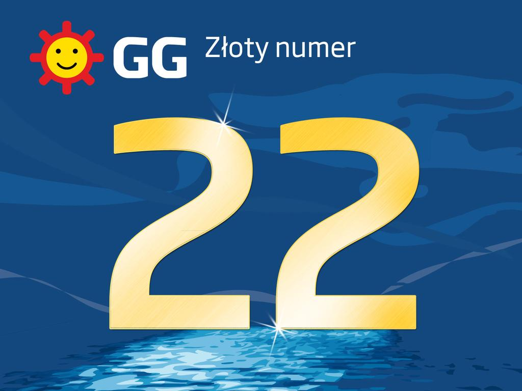 Wylicytuj prestiżowy złoty numer GG 22