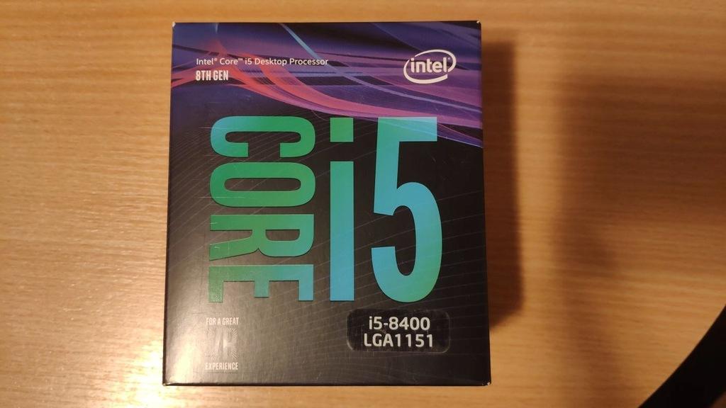 Procesor Intel Core i5-8400 LGA 1151 Gw