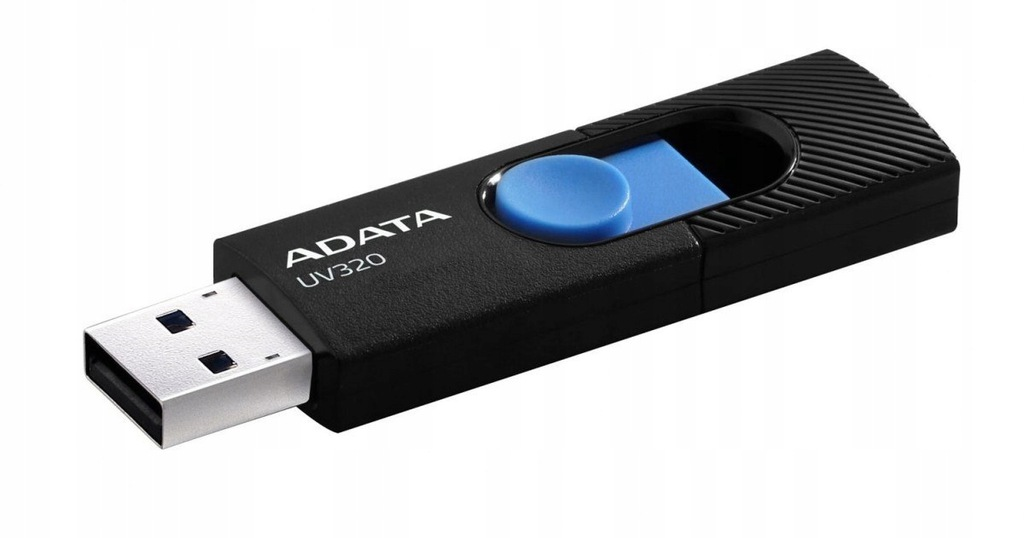 Pendrive ADATA UV320 64GB USB 3.2 AUV320-64G-RBKBL