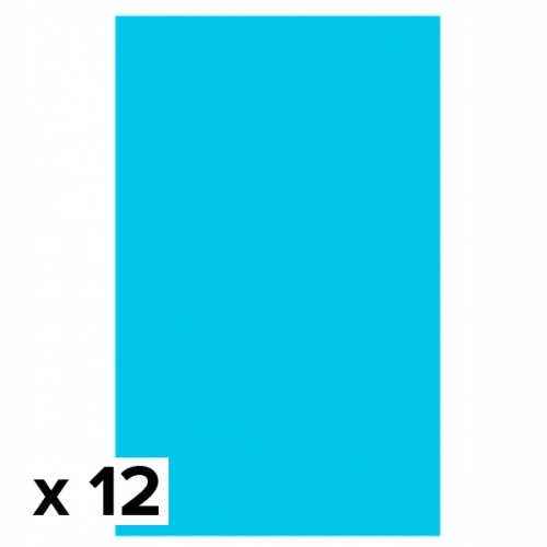 Amscan Rectangular 137cm x 274cm Caribbean Blue