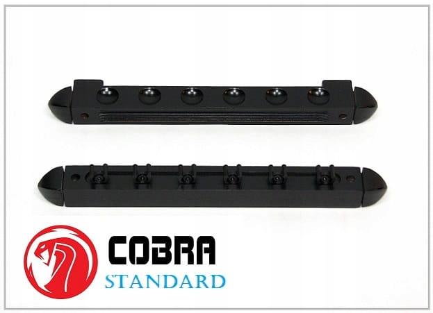 Wieszak na 6 kijów Cobra Standard czarny