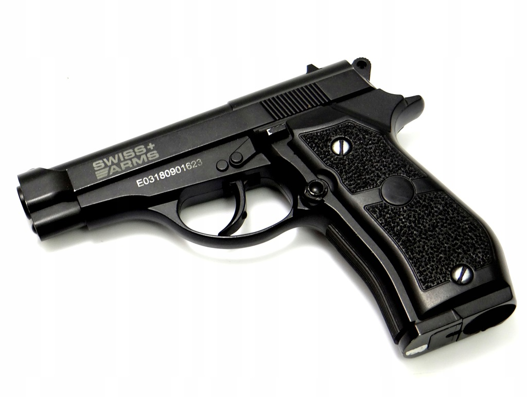 Wiatrówka CyberGun Swiss Arms P84 Full Metal 4,5 m
