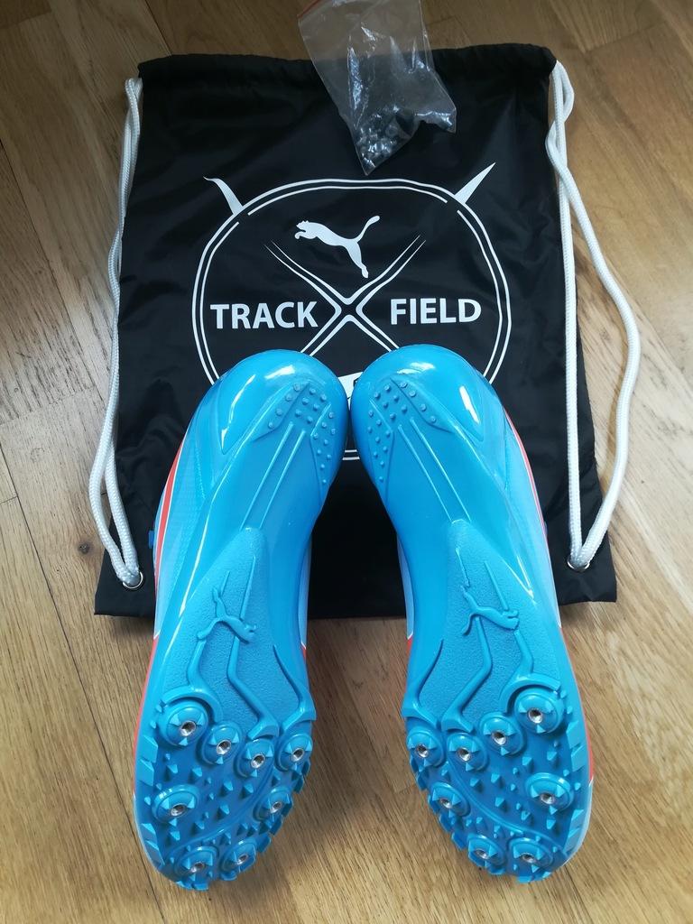 Kolce lekkoatletyczne sprzedam buty puma sprint wkręty (jak